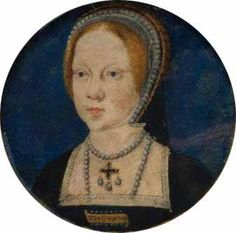 20th February 1516: On this day in history Mary Tudor, daughter of Henry VIII and his first wife Katherine of Aragon was baptised in the Church of the Observant Friars at Greenwich. Her godparents were Cardinal Thomas Wolsey, Catherine Courtenay, Countess of Devon (daughter of the late Edward IV) Margaret Pole, Countess of Salisbury (daughter of the late George, Duke of Clarence) and Agnes Howard the Duchess of Norfolk.