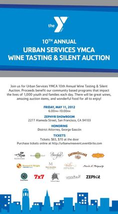 On May 11th YMCA Urban Services held their 10th Annual Wine Tasting and Silent Auction fundraiser at the Zephyr Showroom. #DiscoverZephyr