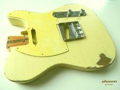 Ehmann Guitarages, Aging, Guitar, Vintage, Custom, Gitarre, Aged, Body, Hals, Neck