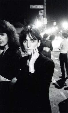 Patti Smith, Bowery, 1976. By David Godlis, simply known as GODLIS
