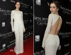 Lily Collins In Houghton – 'The Mortal Instruments: City of Bones' Toronto Premiere