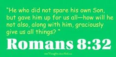Devotional on Romans 8:32