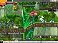 http://mmohuts.com/wp-content/gallery/wonderking-preview/wonder-king-online-combat.jpg?ec9f9b    Side scroll interface - Wonder king online - Commonly made this way, Health and magic displayed on upper right, chat box on lower left, and the remainder of the buttons placed at the lower end of the screen, it displays well and can easily be searched around for the appropriate interface button, not to mention many of the menu's and interfaces can be located by keyboard macro's.