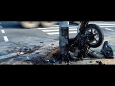 awesome #Extremely Close Calls, Crashes & Scary Motorcycle Accidents  -VIDEO