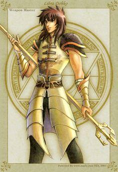 Golden Fantasy-Hexblade Kanon by uuyly on DeviantArt Virgo, Knights Of The Zodiac, Character Group, Zodiac Symbols, Mortal Kombat, Greek Mythology, Anime Manga, Sailor Moon, Saints