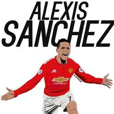 Soccer Tips. One of the greatest sporting events on the planet is soccer, also called football in several nations around the world. Alexis Sanchez, Paisley Scotland, Forever Red, Football Design, Manchester United Football, Sports Graphics, Soccer Tips, Sports, Display
