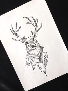 #abstract #deer