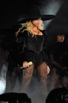 Now let's get in formation: The 35-year-old songstress looked sensational in a…