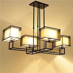 Led, Chandelier Ceiling Lights, Chandeliers, Metal, Lighting, Frame, Minimalist Style, Home Decor, Iron