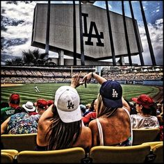 First Dodger Game of...