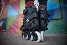 No Fear Aggr Skate Roller Skates Ice Skating Boots Gents Mens