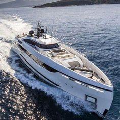 """DEVINE"" by Palumbo shipyards & Hot Lab yacht design. Super Yachts, Big Yachts, Yacht Design, Boat Design, Yachting Club, Bateau Yacht, Yatch Boat, Yacht Party, Deck Boat"
