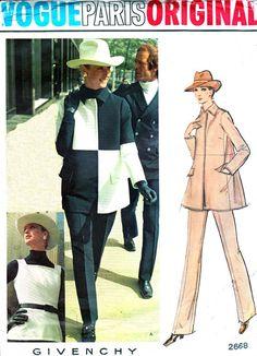 Vintage Sewing Pattern 1970s Vogue Paris Original by paneenjerez, $75.00