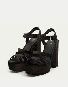 Sandalia tacón noche - Ver todo - Zapatos - Mujer - PULL&BEAR Panamá