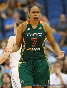 Tina Thompson: WNBA player, 2-time Olympic champion