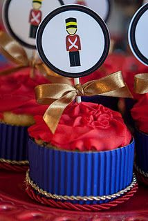 Tin Soldier! London Theme Parties, London Party, Twin Birthday, 3rd Birthday Parties, Happy Birthday, Nutcracker Christmas, Christmas Holidays, Soldier Party, British Party