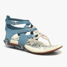 Sierra Sandal in Blue #shoes  #fashion #women #sandals #summer