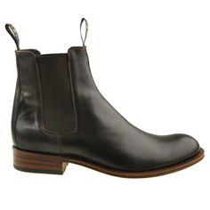 Sendra Boots Stiefel 5595 Dunkelbraun Chelsea Boot