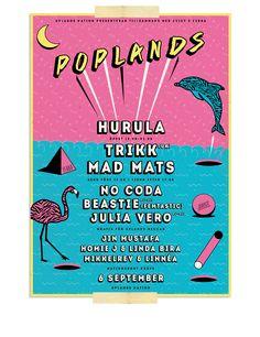 Poplands Festival on Behance