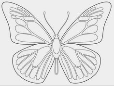 Free Butterfly Printable Butterfly Butterfly coloring page butterfly drawing - Drawing Tips Butterfly Outline, Morpho Butterfly, Outline Art, Butterfly Images, Butterfly Drawing, Butterfly Template, Butterfly Pattern, Printable Butterfly, Blue Morpho