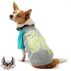 "Bret Michaels Pets Rock™ ""You're Not the Boss of Me"" Tee   T-Shirts & Tank Tops   PetSmart"