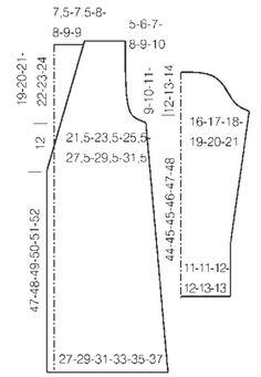 Kolminappinen Sylvi-jakku sopii myös housujen kanssa, kun kietaisee vyötärölle kapean vyön. Ohjeessa on koot XS-XXL.Malli: Lea PetäjäKoko: XS-S-M-L-XL-XXLV