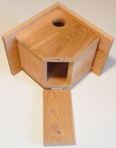 2 Cedar Wren Houses --- Visit our shop here --- Bird Feeder Plans, Bird House Feeder, Bird Feeders, Wooden Bird Houses, Bird Houses Diy, Bird House Plans, Bird House Kits, Wood Projects, Woodworking Projects