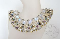 Shine silver necklace with moonstone, labradorite, citrine, amethyst, pearls  - product images  of SCHJ #silvernecklace #necklace #silverjewellery #jewelry #jewellery #pearl #moonstone #jewelleryblog #jewelleryboutique