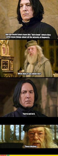 mean girls + harry potter never fails.