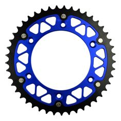 Motorcycle Parts Steel Aluminium Composite 45~52 T Rear Sprocket for KTM 400 LC4 Duke 1994-1998 / LC2 125 1996-98 Fit 520 Chain