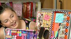 Sophie's World: DIY locker organizer video