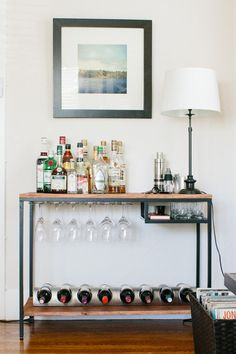 Where My Booze At: Easy Ideas for Storing Wine & Liquor