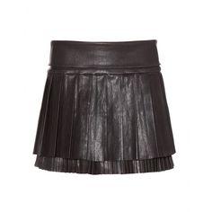 Isabel Marant - Mini-jupe plissée en cuir Diana - Tandis que sa coupe mini allonge vos jambes, le cuir plissé de cette jupe Isabel Marant vous prodiguera un style sophistiqué. seen @ www.mytheresa.com
