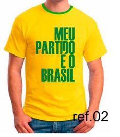 9fcc0476d 54 melhores imagens de Camiseta brasil em 2019