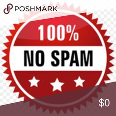 Spam accounts will be reported! I will not email. Payments will only be accepted through Poshmark or PayPal. I do NOT accept checks. Other