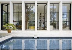 If you've been noticing a trend of steel windows and doors showing up in some of your favorite images, you're not alone