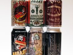 Remember the canned beer!