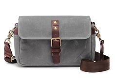 ONA | The Bowery Camera Bag and Insert - Smoke