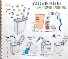 暖かくなってきて嬉しさを感じる一方、我が家では早速ちょっと気になることが……。 それはゴミ箱のニオイです!皆さんの家は大丈夫ですか? 今回は、簡単にできるゴミ箱のニオイと汚れを解決するのに一番効果的な方法をご紹介します。  ゴミ箱のニオイと汚れを解決するのに一番効果的な方法って? 毎年暑い時期にはどうしてもゴミ箱周辺からなんとなく嫌なニオイが漂ってしまいがちですよね。 ゴミ収集日にゴミ… House Cleaning Tips, Cleaning Hacks, Clinic Design, Clean Up, Organization Hacks, Trivia, Clean House, Housekeeping, Good To Know