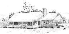Country Home Plan F-1553