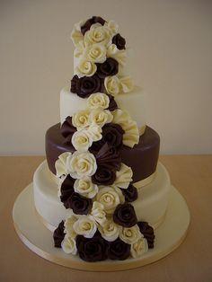 .Chocolate and vanilla :)