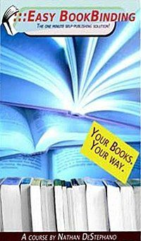 DIY Book Binding - Make Hardcover and Trade Paperbacks At Home for Pennies Each