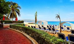 Groupon: All-Inclusive Stay at Royal Decameron Montego Beach in Jamaica from $139/night. #BudgetTravel #TravelDeals