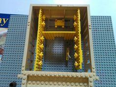 Lego Solomon's Temple Interior by Kooberz, via Flickr