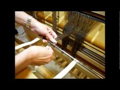 How to Weave on a Loom - Winding the Warp - Part 1 (Eliz Wagner series)