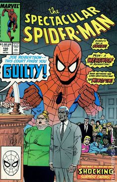 Spectacular Spider-Man (1976 1st Series) 150 Marvel Comics Peter Parker Comic book covers Super Heroes Villians Amazing Astonishing silver bronze modern age