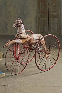 *Antique Child's Tricycle
