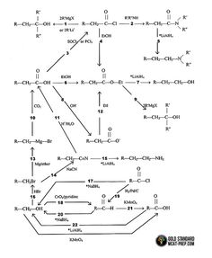 Common Organic Chemistry Reactions 1-22