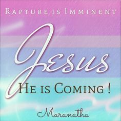 Turn your eyes upon Jesus, Look full in His wonderful face,  and the things of earth will grow strangely dim. In the light of His glory and grace.  GET READY #WiseVirgins,  For the KING of kings, JESUS HE IS COMING !!!   #MARANATHA #RAPTURE IS IMMINENT  Hebrews 10:37-39 (KJV)  For yet a little while, and he that shall come will come, and will not tarry. Now the just shall live by faith: but if any man draw back, my soul shall have no pleasure in him. But we are not of them who draw back unto…