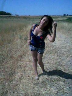 Emunah Beautiful Israeli Girl Enjoying Outside